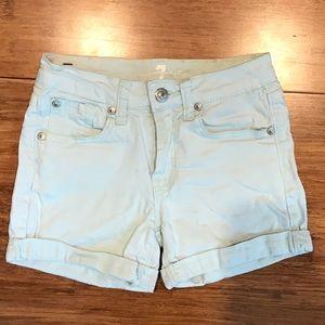 Girls Size 10 Denim Shorts